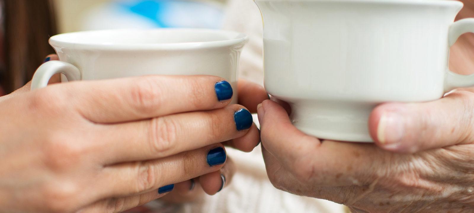 Kahvihetki henkilökohtaisen avustajan kanssa